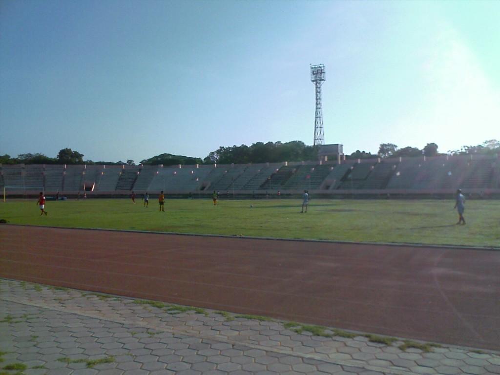 Nehru Stadium Coimbatore from Inside