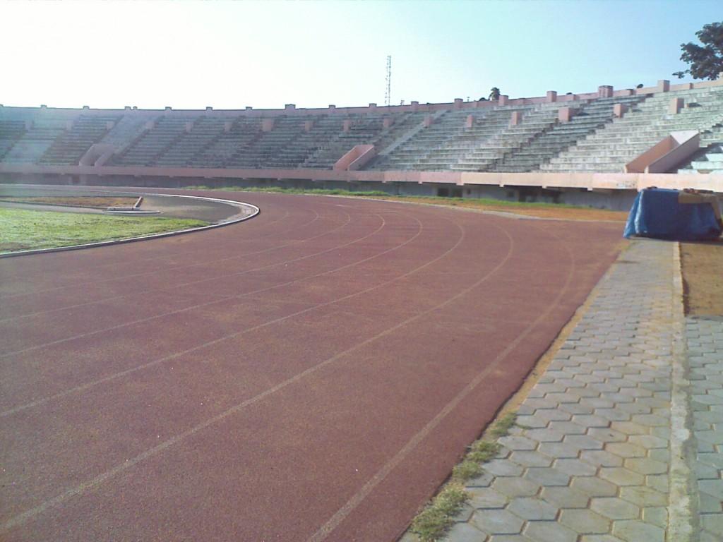 Nehru Stadium Running Track in Coimbatore