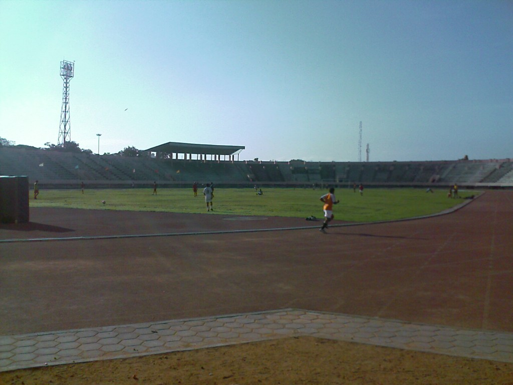 Nehru Stadium Football Ground Coimbatore
