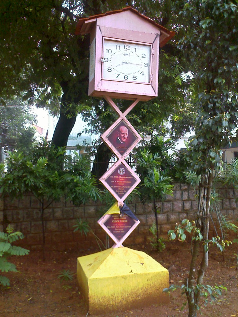 fancy clock in race course road coimbatore
