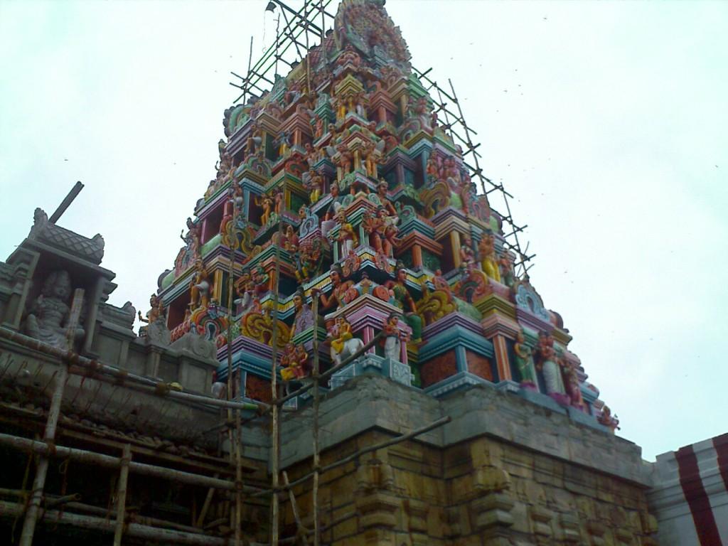 Perur Patteeswarar Temple Gopuram Photo