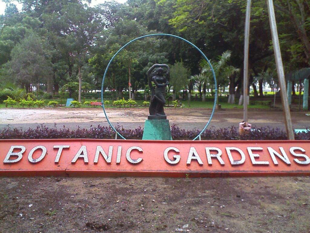 TNAU botanic gardens coimbatore