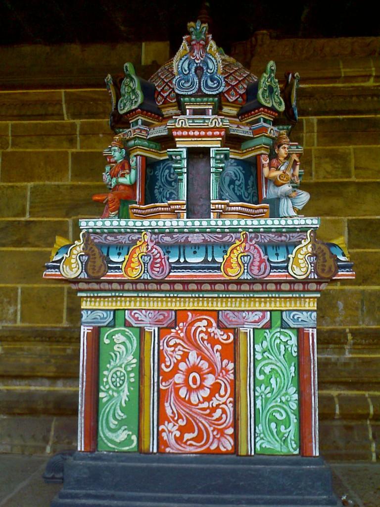 Mini Gopuram in Perur Temple Coimbatore