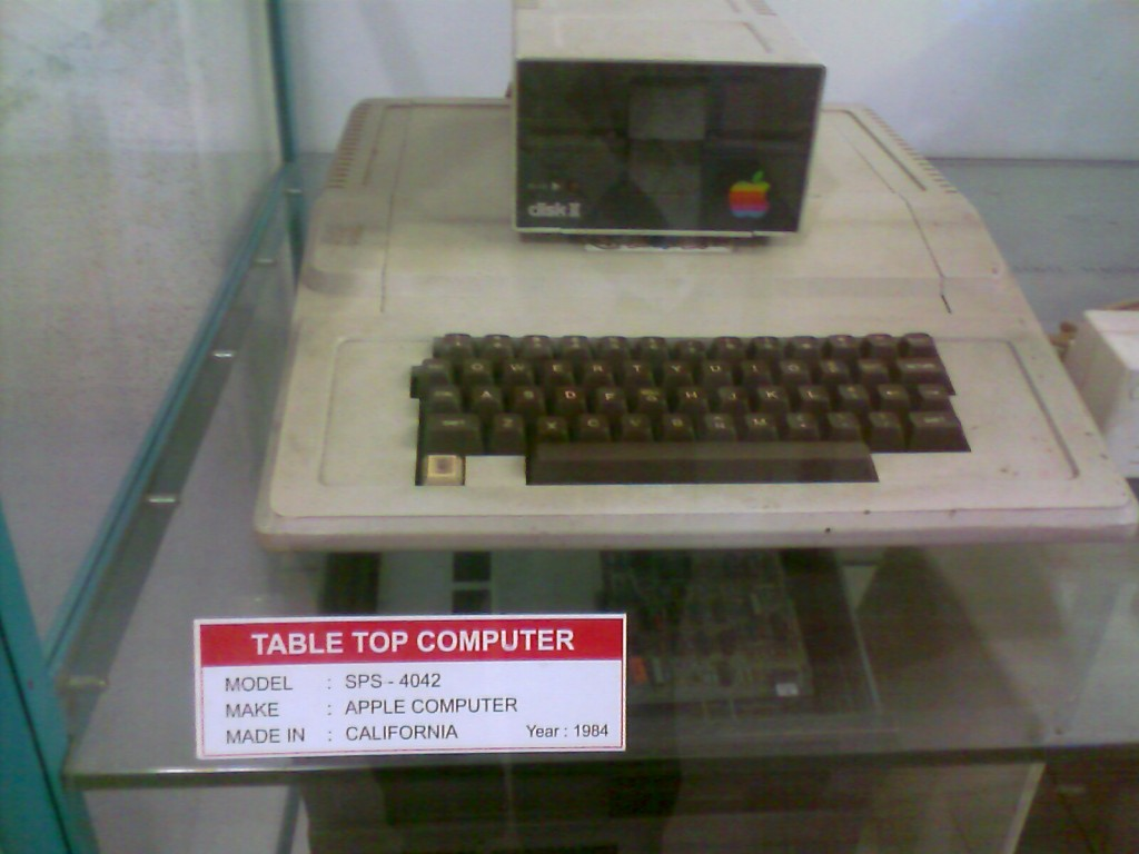 A photo of Apple Computer made in 1984