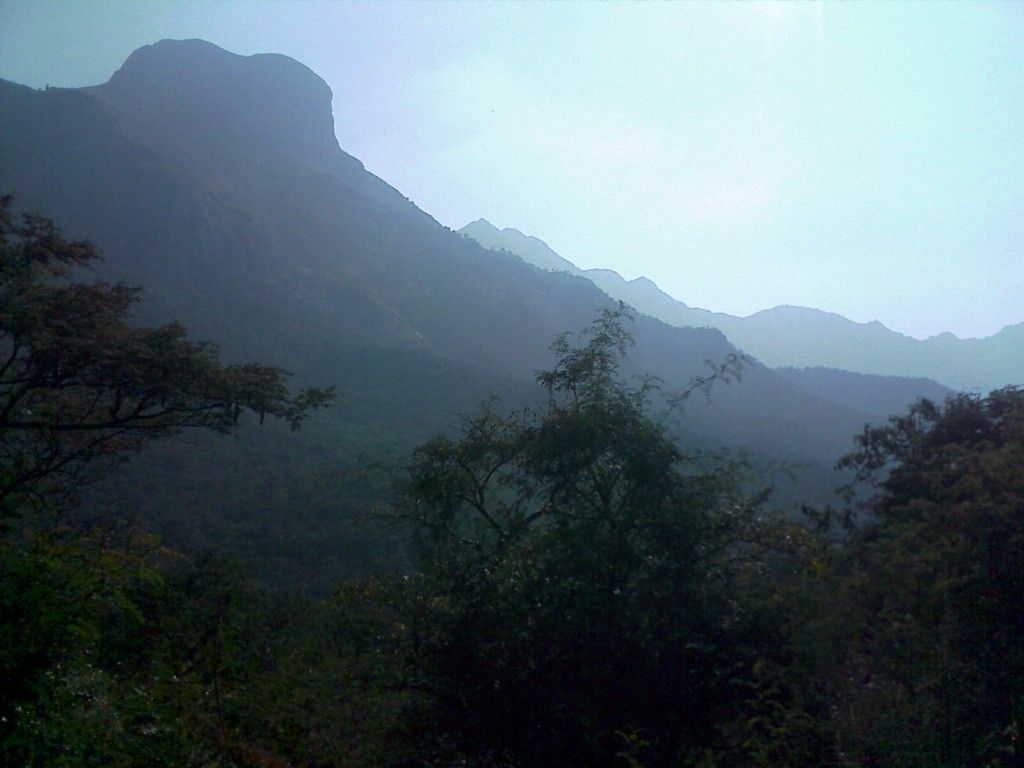 Palamalai hill near coimbatore for a short trip over the mountain