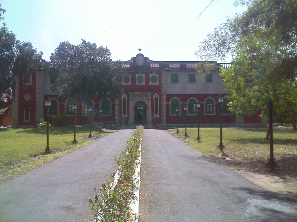 H A Gass Museum building in coimbatore from outside
