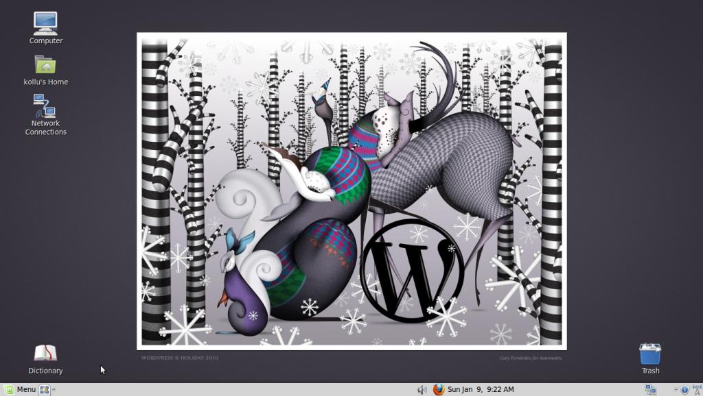 Linux Mint Desktop screenshot