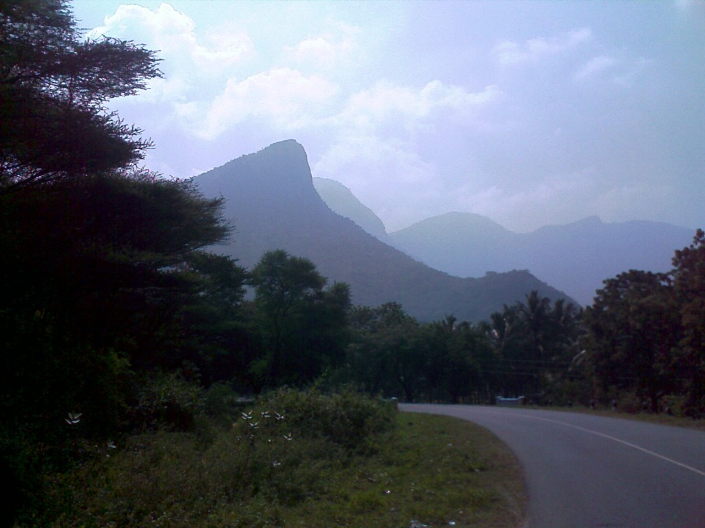 on the way to aliyar dam (valparai road)