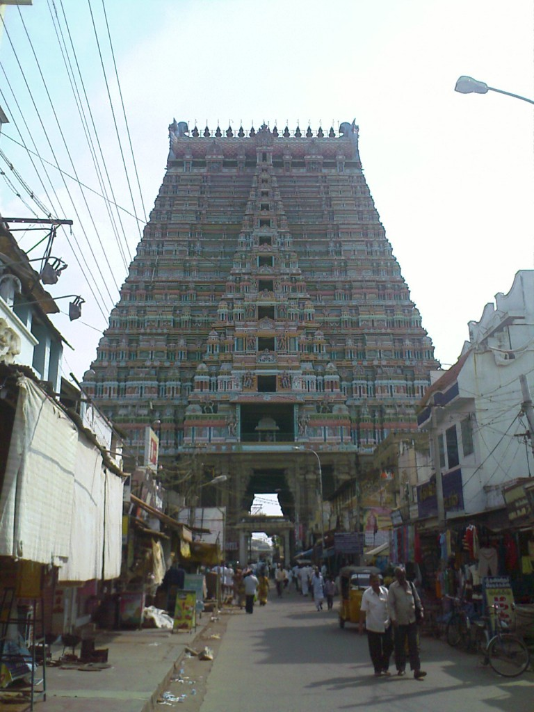 Srirangam Sri Ranganathaswamy Temple in Trichy Gopuram Photo