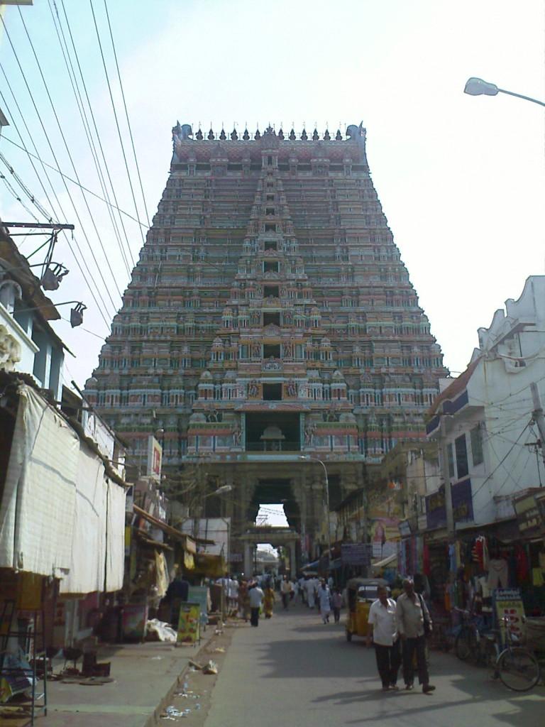Srirangam Sri Ranganathaswamy Temple in Trichy Gopuram Photo