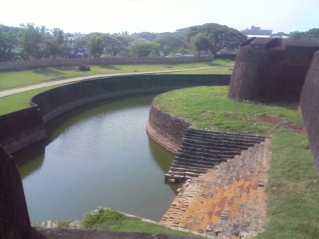 A view from the top of the Palakkad Fort