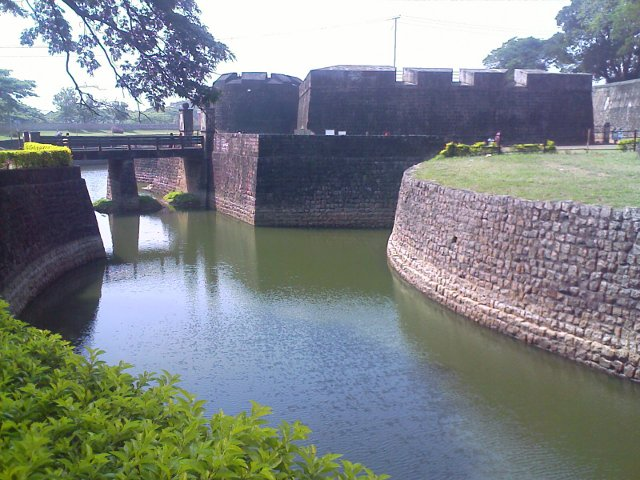 Palakkad Fort - View from outside
