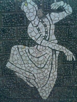 rock gardens palakkad modern art of indian dancing woman