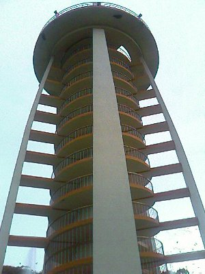 anna nagar tower close up view
