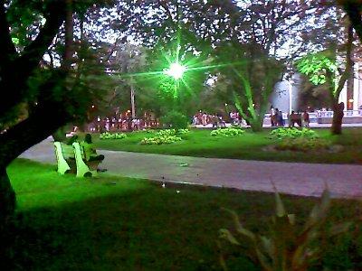 green light in anna nagar tower park