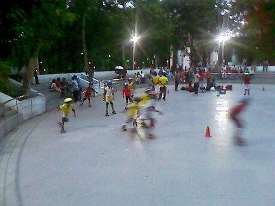 anna nagar tower park roller skating