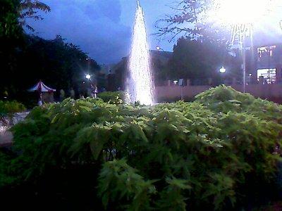 fountain in annanagar tower park in chennai