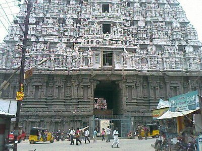 A grand Indian temple - Tiruvannamalai Temple in Tamil Nadu