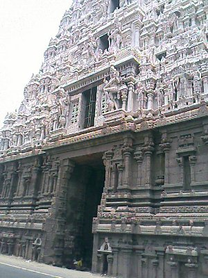 Shiva Temple architecture Tiruvannamalai Tamil Nadu India