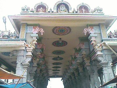 Tiruvannamalai temple Pillared Hall