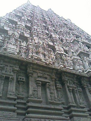 Beautiful architecture of tiruvannamalai temple