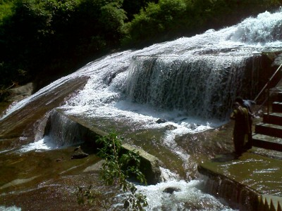 Kovai Kutralam Water Falls in Coimbatore