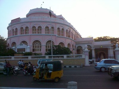 vivekananda house building at marina beach