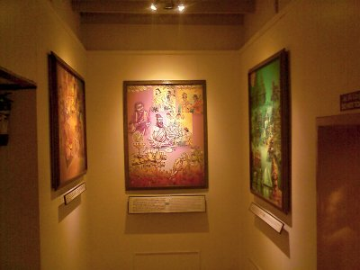 vivekananda house paintings on Indian mythological stories
