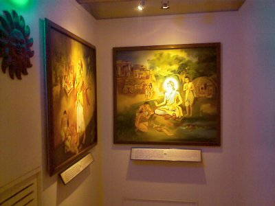 Paintings at the Vivekananda House in Chennai