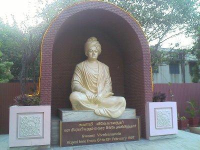 Vivekananda Statue in Vivekanandar illam chennai