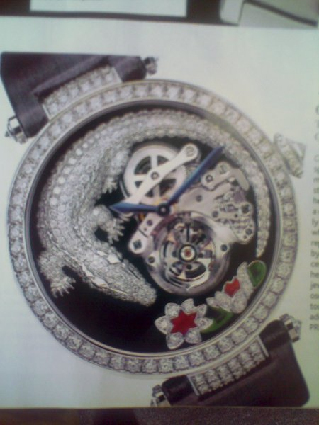 attractive and beautifully designed watch