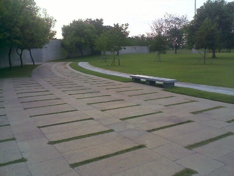 Rajiv Gandhi Ninaivagam Pathway and Lawn