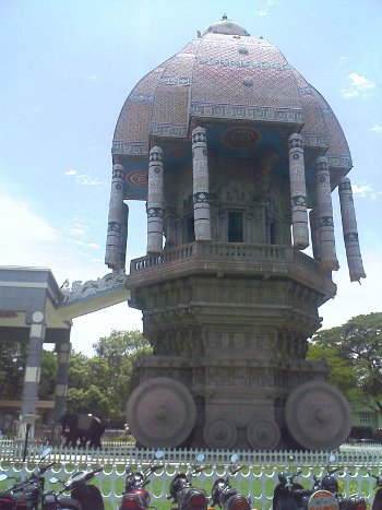 Valluvar Kottam Stone Charriot Photo in Chennai