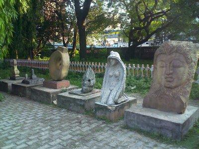 some sculptures in govt museum egmore, chennai