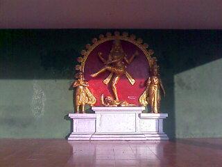 Nataraja Statue in Ekambaranadar Temple, Kanchipuram