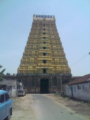 Varadaraja Perumal Temple in Kanchipuram