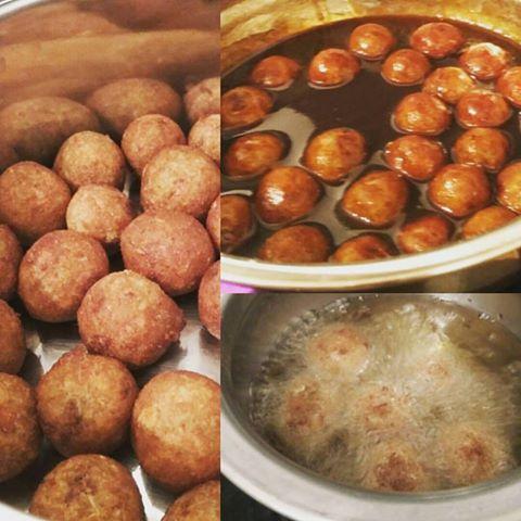 Vegan Gulab Jamun (Indian Delicious Sweet) Recipe