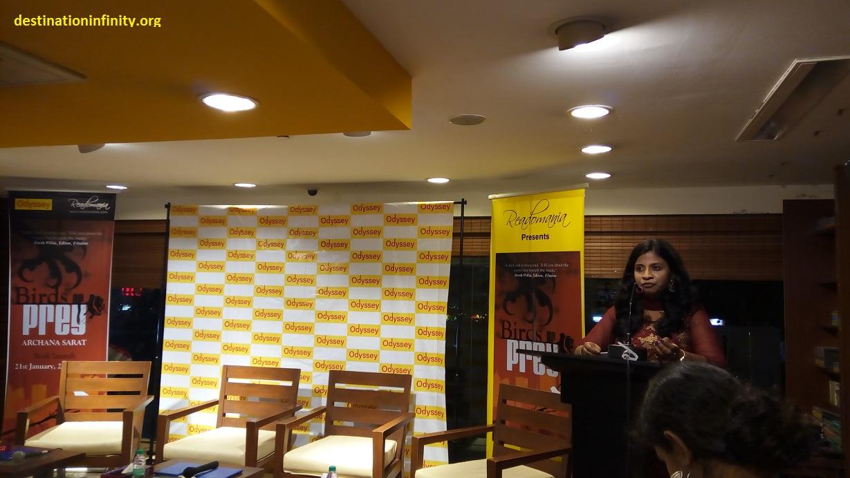 Archana-Sarat-Book-Launch-Birds-of-Prey-at-Chennai