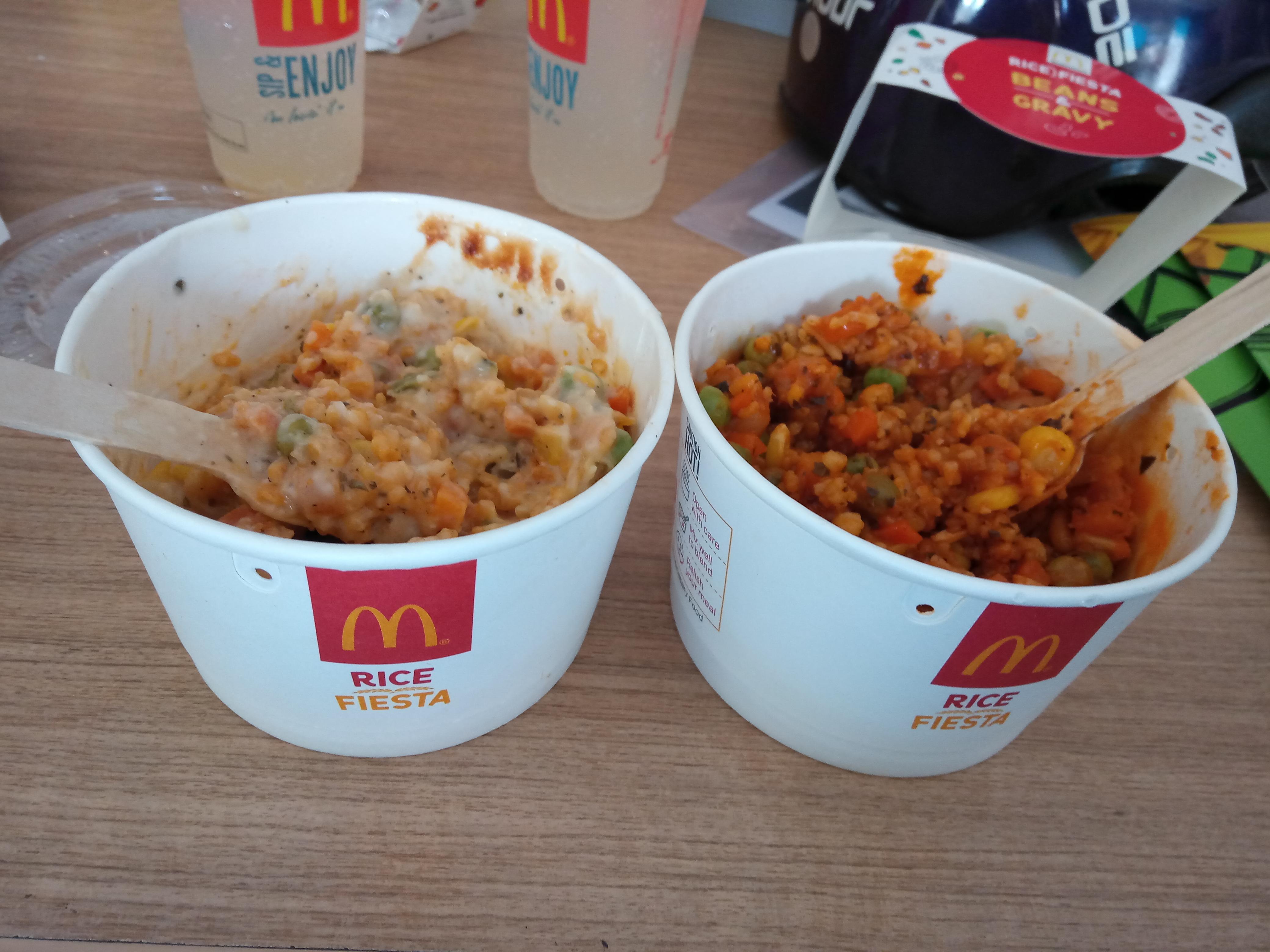 McDonalds introduces rice in Chennai, India
